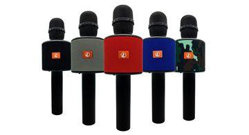 Imagen de Microfono Ledstar Con Parlante Amplificado Megastore Virtual