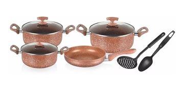 Imagen de Bateria de Cocina CUORI LIVORNO 9 piezas