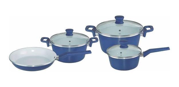 Imagen de Bateria de Cocina CUORI MARE 7 piezas