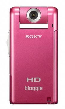 Imagen de Camara Digital Video SONY MHS PM5 PINK