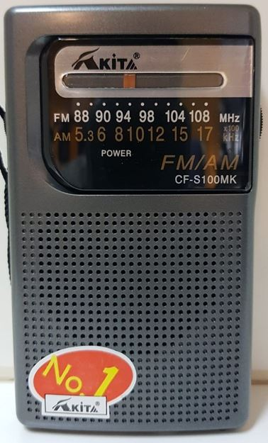 Imagen de Radios AKITA CFS 100 MK am/fm 2AA