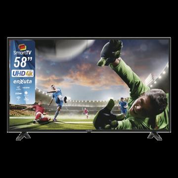 """Imagen de TV Led ENXUTA 58"""" Smart Ultra HD 4 K"""