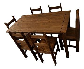 Imagen de Juegos de Comedor JULIA 6 sillas